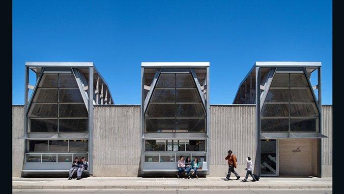 Public Library of Constitucion, Sebastian Irarrazaval Arquitectos (Constitucion, Chile)