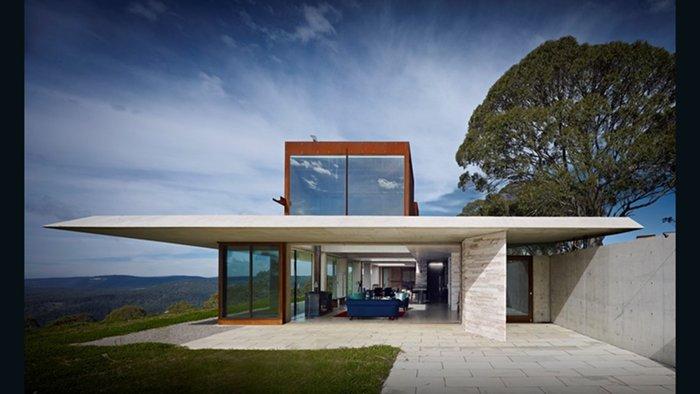 Invisible House, Peter Stutchbury Arquitecture (Hampton Australia)