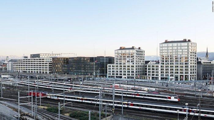 Europaallee Baufeld, E. Caruso John Architects (Zurique Suíça)