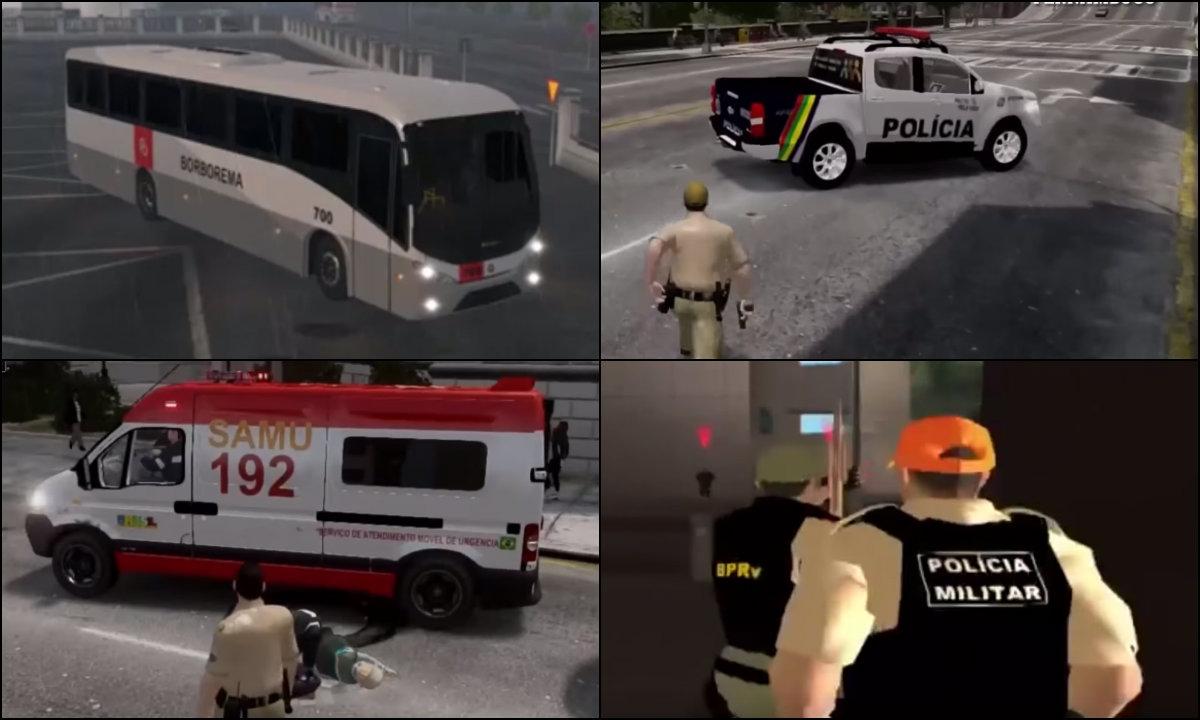 Jogos digitais incorporam PMs e até ônibus do Recife