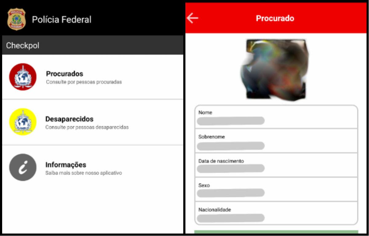 Polícia Federal cria app que permite acesso à lista de procurados da Interpol
