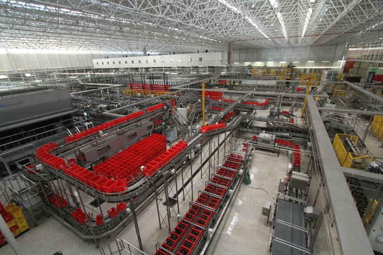 fábrica itaipava produção