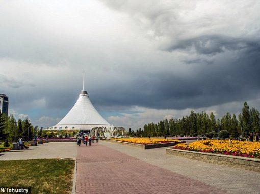 """Fotografia tirada no Cazaquistão mostra """"olho"""" no céu"""