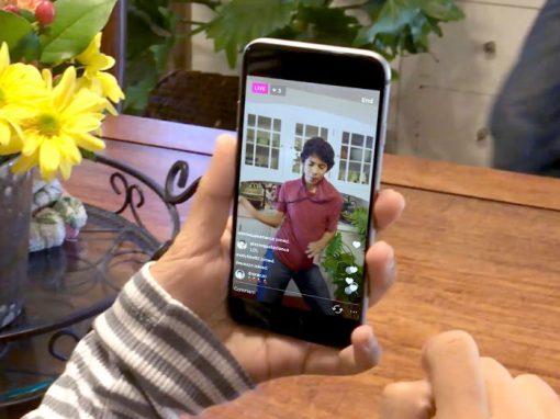 Instagram agora permite transmissões ao vivo