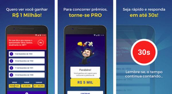 Show do Milhão lançado para celular tem prêmios reais
