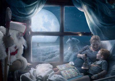 Crianças que passarão Natal internadas estrelam ensaio