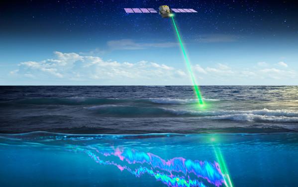 Laser espacial da Nasa pode corrigir cadeia alimentar e diminuir gás causador do efeito estufa