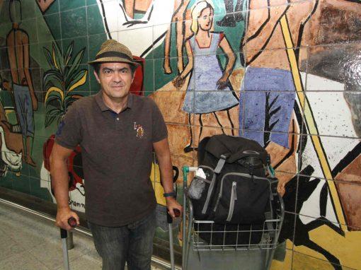 Maranhense chega ao Recife com 110 países na bagagem