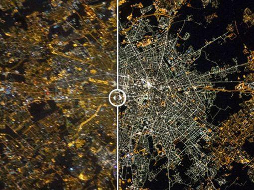 Imagens da Nasa mostram diferença em paisagens vistas do espaço ao longo de décadas