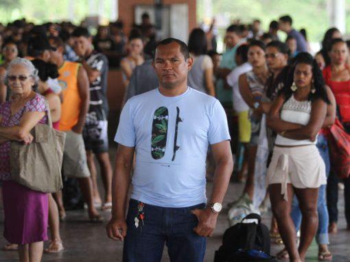 Um Professor Pardal no metrô do Recife