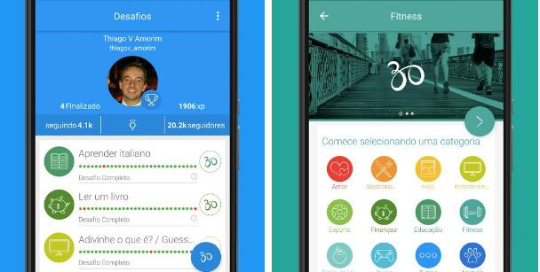 App ajuda a manter foco, organização e motivação