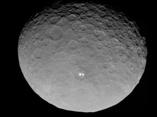 Nasa acha compostos orgânicos em planeta anão Ceres