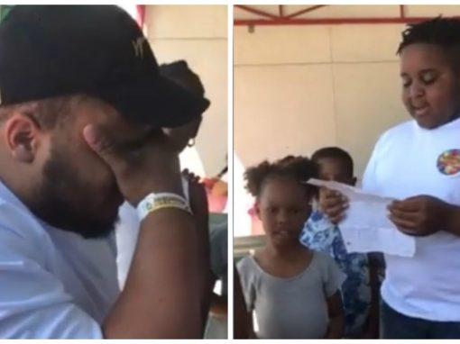 Garoto pede para oficializar adoção e emociona padrasto em vídeo