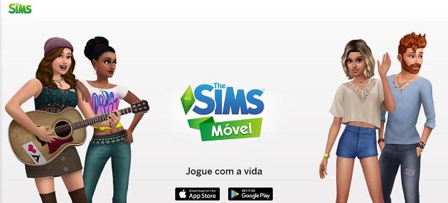 Versão mobile de The Sims está disponível no Brasil