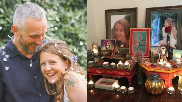 Marido vela esposa e dorme ao lado do caixão por seis dias