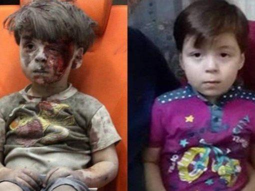Garoto símbolo da guerra da Síria reaparece saudável