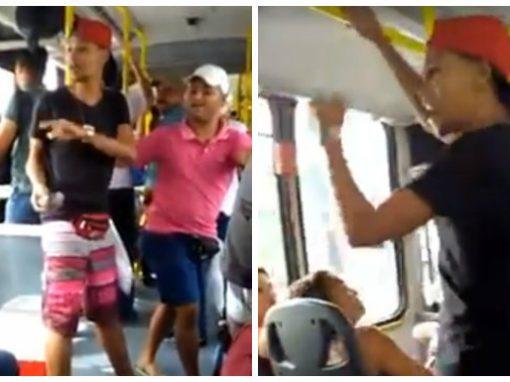 Vendedores de bolo de pote viralizam com performance em ônibus do Recife