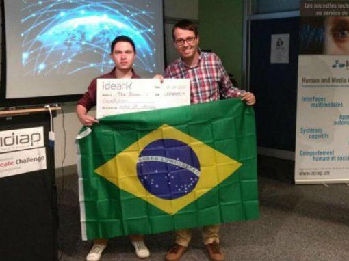 """Brasileiros vencem olimpíada mundial com """"app do ônibus lotado"""""""
