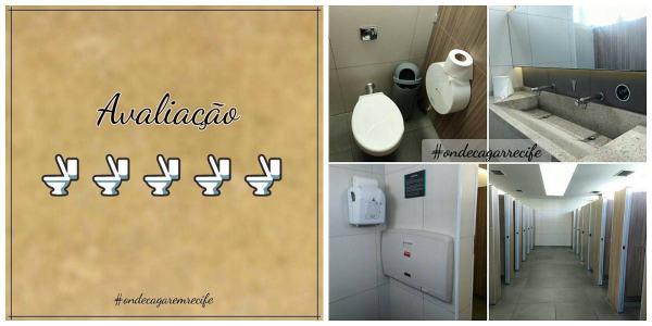 """Recife recebe """"guia"""" de avaliação de melhores banheiros para o público"""