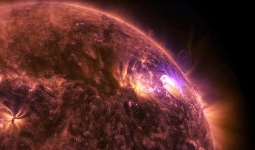 Nasa anuncia tempestade solar mais forte da última década