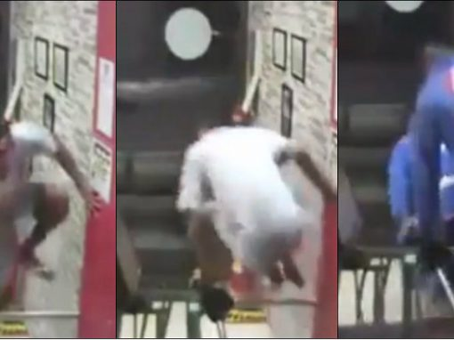 Homem tenta roubar academia, mas foge ao ser perseguido por turma de jiu-jitsu