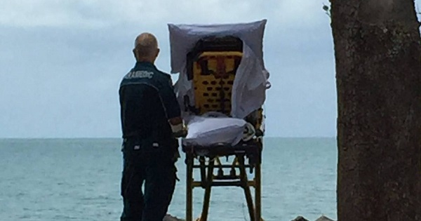 Ambulância desvia rota para paciente terminal ver o mar antes de morrer