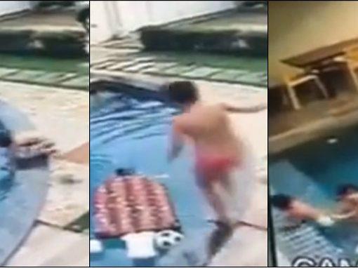 Criança de 7 anos salva primo de 2 de afogamento